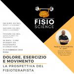 DOLORE, ESERCIZIO, MOVIMENTO: la prospettiva del fisioterapista – 4° Edizione