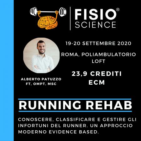 RUNNING REHAB:  conoscere, classificare e gestire gli infortuni del Runner. Un approccio moderno Evidence Based – 2° EDIZIONE