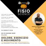 DOLORE, ESERCIZIO, MOVIMENTO: la prospettiva del fisioterapista – 5° Edizione