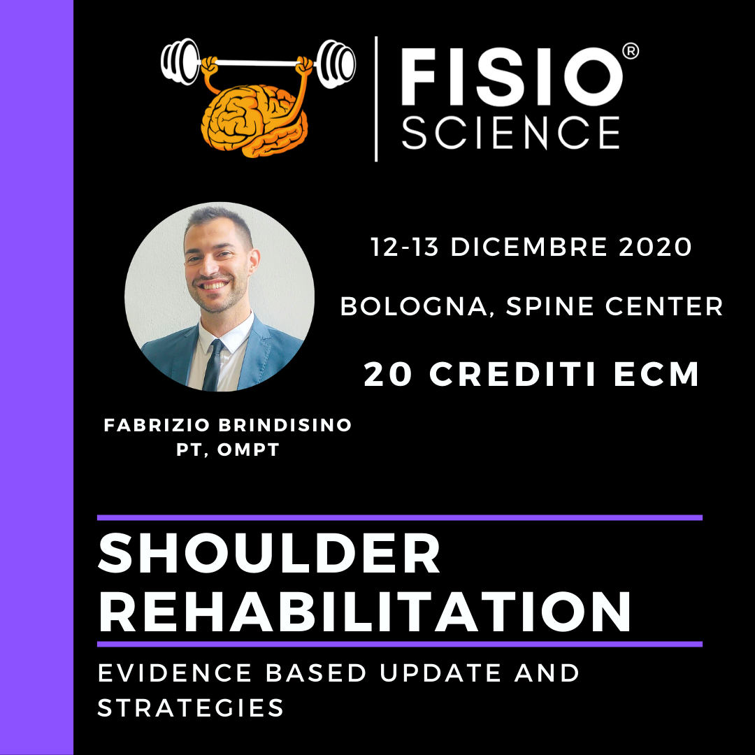 SHOULDER REHABILITATION: Evidence based update and strategies.