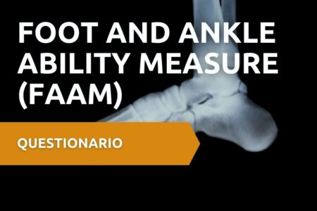 FAAM Foot and Ankle Ability Measure