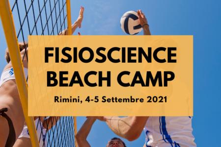 fisioscience beach camp